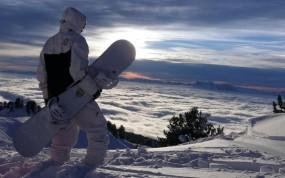 Обои Сноубордер: Сноуборд, Сноубордист, Спорт