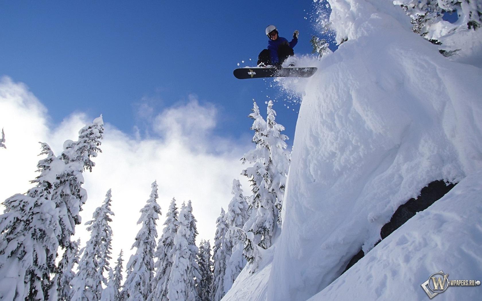 Обои сноуборд рабочий стол 7