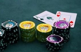 Обои Покер: Стол, Покер, Фишки, Азарт, Спорт