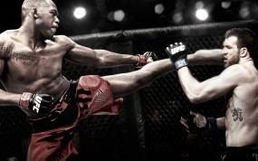 Обои Jon Jones vs Ryan Bader: Удар, Бойцы, UFC, Спорт