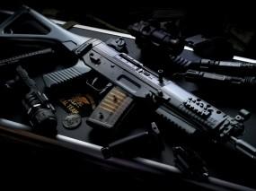 Обои Автомат: Оружие, Автомат, SWAT, Оружие