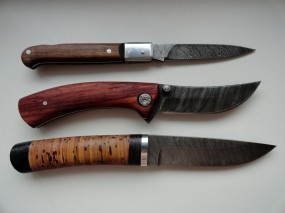 Обои Messer дамасская сталь: Сталь, Ножи, Messer, Оружие