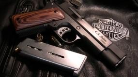 Обои Colt M1911 Rail Gun: Пистолет, Colt, Оружие
