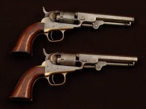 Обои Капсульные-револьверы системы Кольта: Револьвер, Colt, Оружие