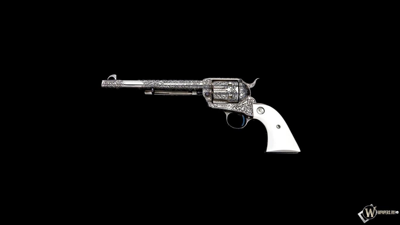 Обои кольт узоры оружие пистолет
