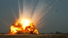 Обои Взрыв: Огонь, Взрыв, Волна, Поверхность, Оружие