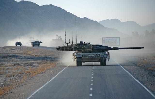 Танк Leopard 2a6m