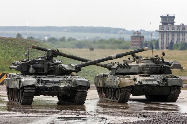 Танец танков Т-90