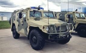 Обои ГАЗ-2330 «Тигр» : Машина, Оружие, Оружие