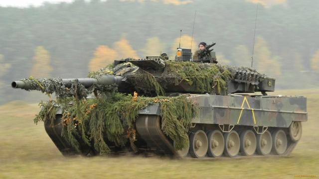 Танк Leopard 2A6