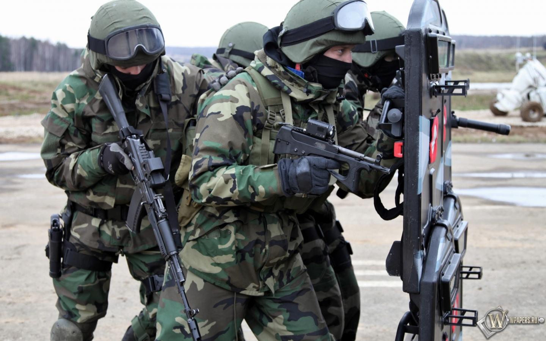 Обои спецназ рф солдат спецназ 1440x900