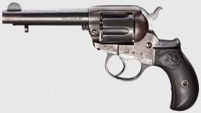 Обои Colt Lightning D.A-Mod. 1877: Оружие, Пистолет, Colt, Кольт, Оружие