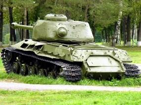 Обои Тяжелый танк ИС-2: Оружие, Танк, Оружие
