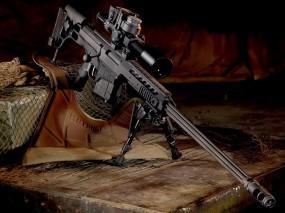 Обои Снайперская Винтовка Barrett M98: Винтовка, Снайперка, Оружие