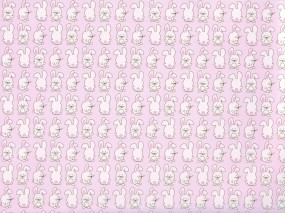 Обои Кролики: Розовый, Текстура, Кролик, Животные