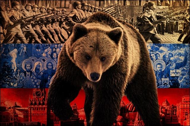 Обои для рабочего стола русский медведь