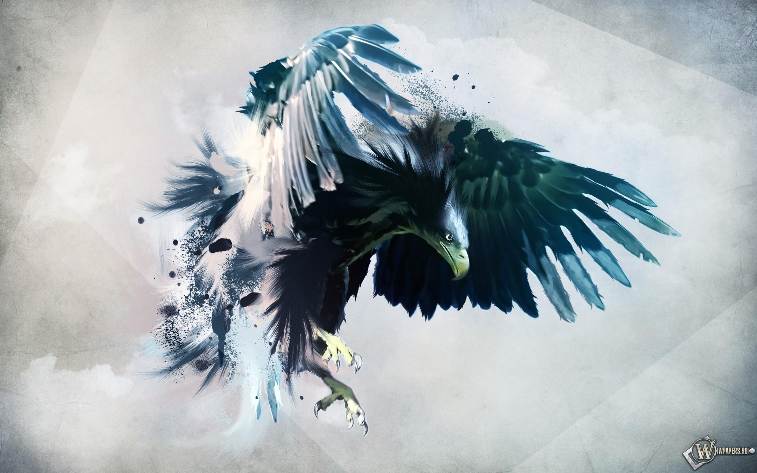 Artistic eagle 2560x1600