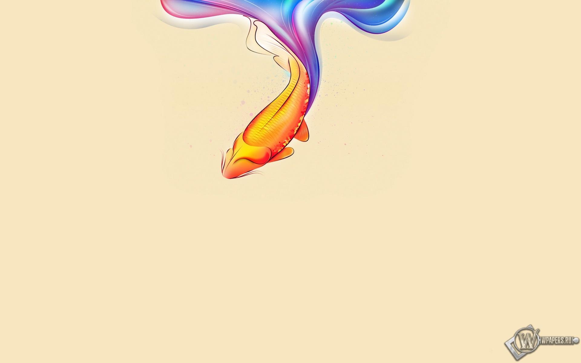 Золотая рыбка 1920x1200