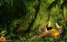 Животные в лесу
