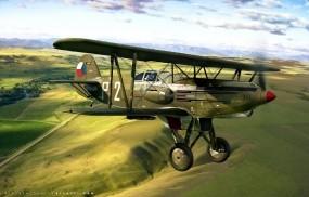 Обои B 534 Avia: Avia, Самолеты