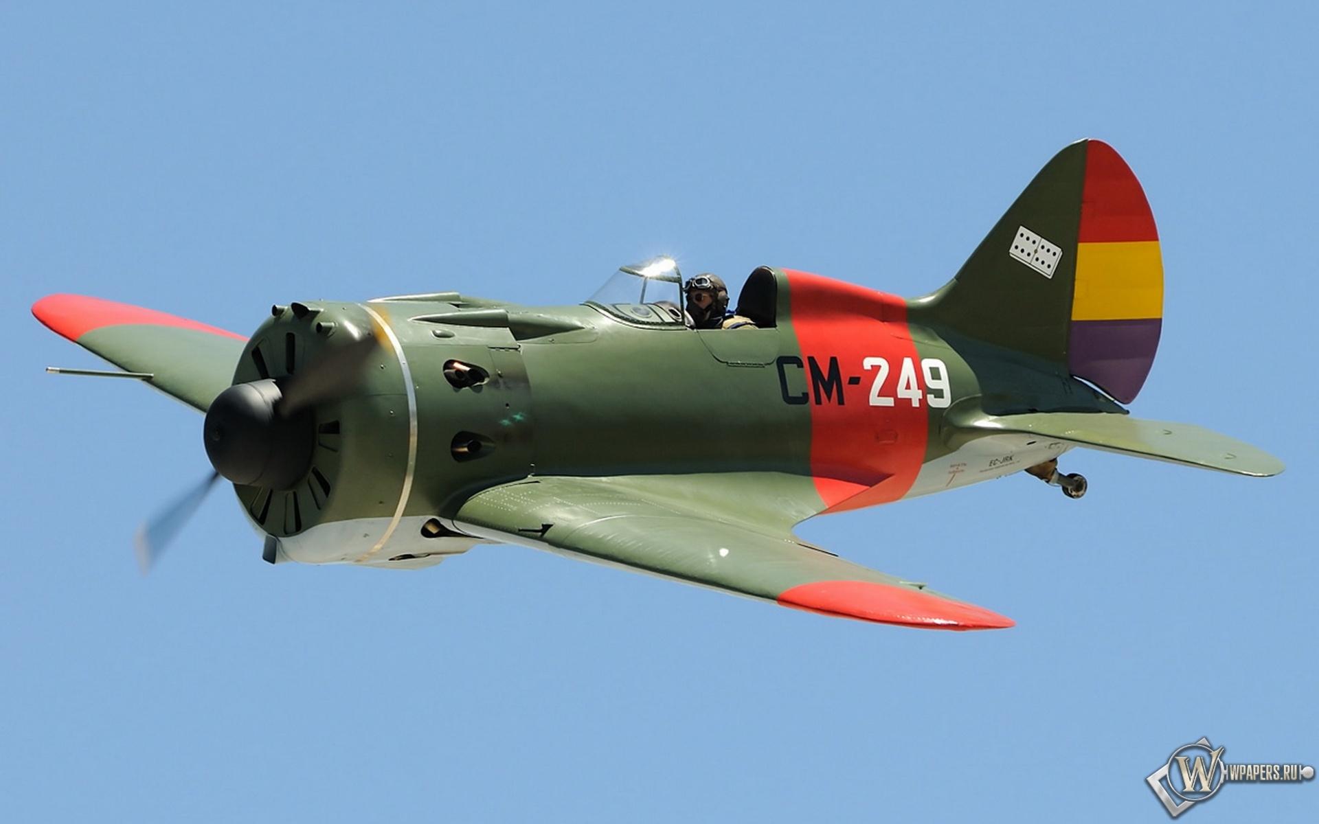 Polikarpov I-16 1920x1200