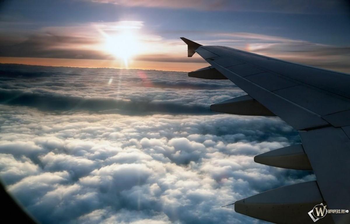 Облака и солнце фото
