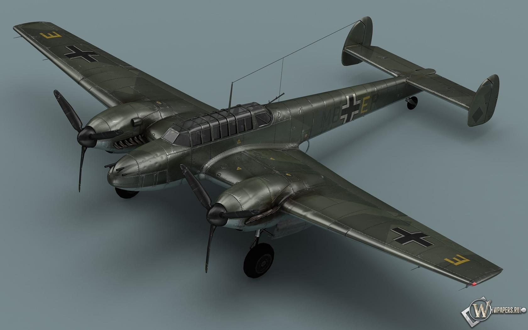 Messerschmitt Bf-110 1680x1050