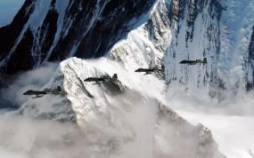 Обои A-10 Thunderbolt на Аляске: Горы, Самолёт, A-10, Скала, Аляска, Самолеты