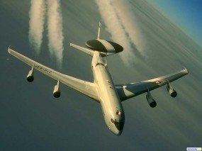 Обои E-3F AWACS: Самолёт, AWACS, Самолеты