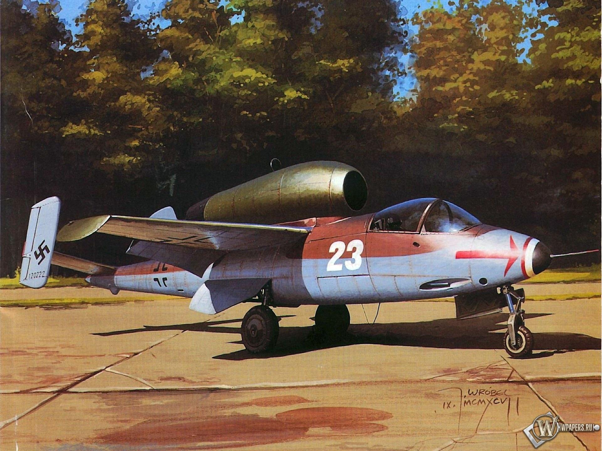 Heinkel He-162 Salamander 1920x1440
