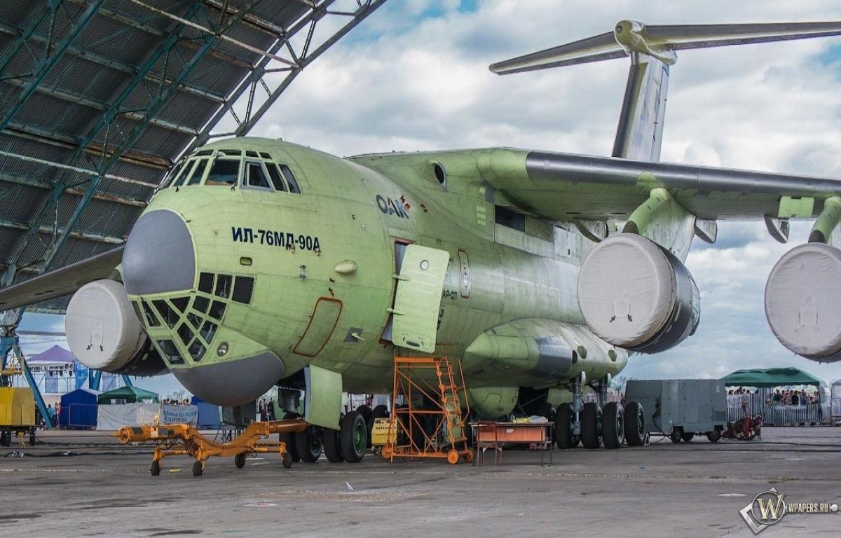 Обои ил 476 самолёт оружие 1200x768
