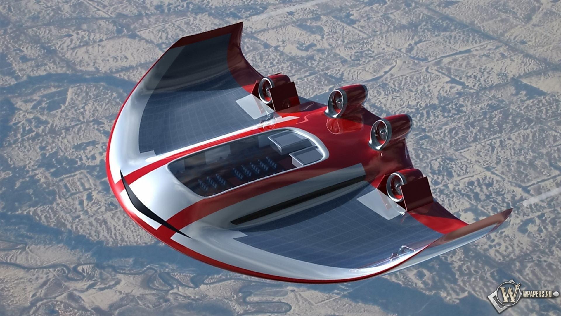 Самолет-концепт 1920x1080