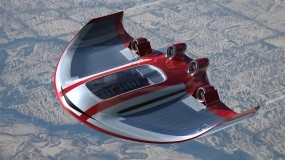 Обои Самолет-концепт: Небо, Самолёт, Авиация, Самолеты