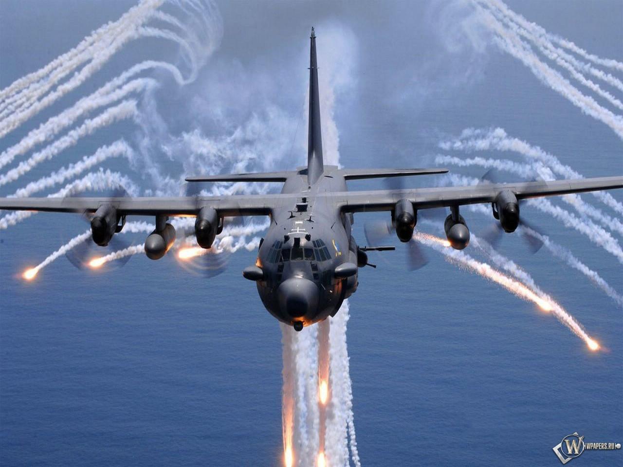 Lockheed AC-130 1280x960