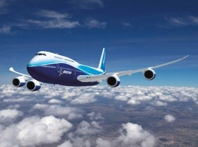 Обои Boeing-747: Облака, Самолёт, Boeing-747, Авиалайнер, Самолеты