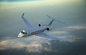 Обои Gulfstream G650: Полёт, Небо, Самолёт, G650, Самолеты