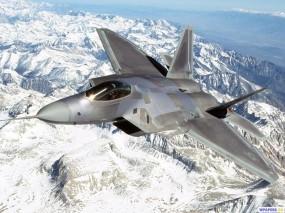 Обои Истребитель F-22: Истребитель, F-22, Истребители