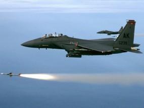 Обои Пуск ракеты: Истребители, Ракета, Пламя, Истребители