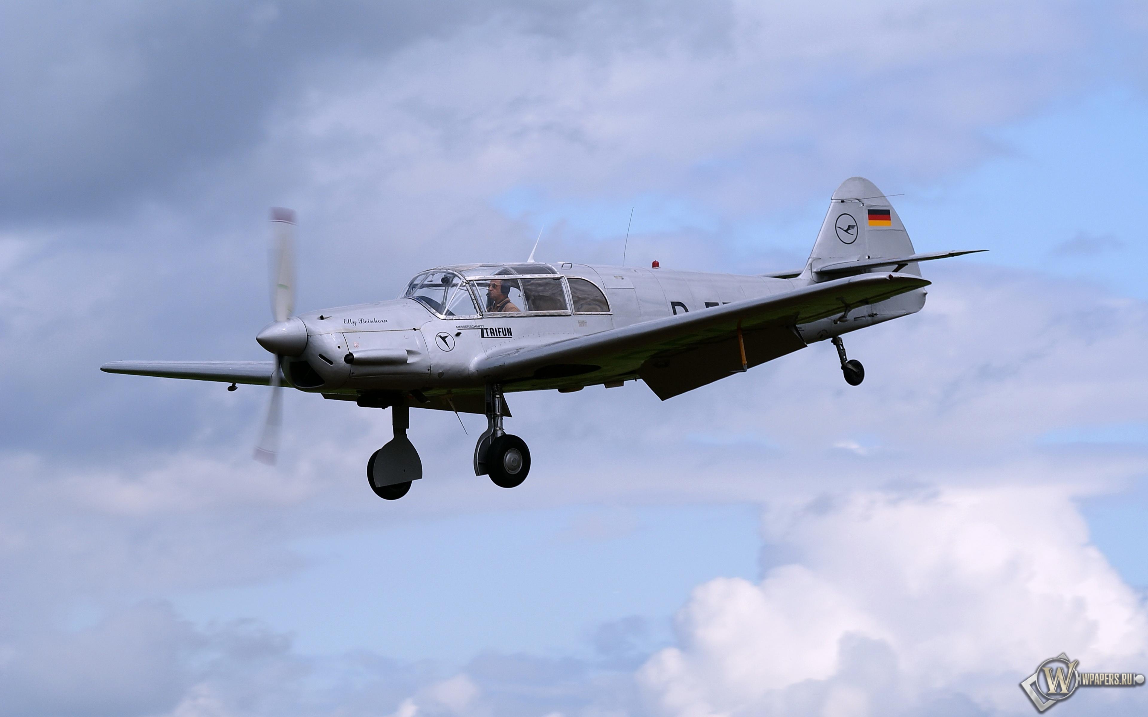 Messerschmitt Bf-108 Taifun 3840x2400