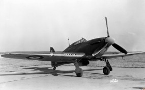 Обои Hawker Hurricane: Hawker Hurricane, Истребители