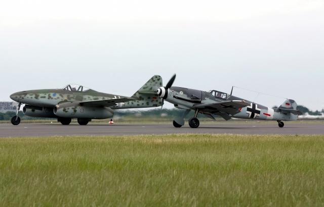 Messerschmitt Me 262 и Bf-109G4