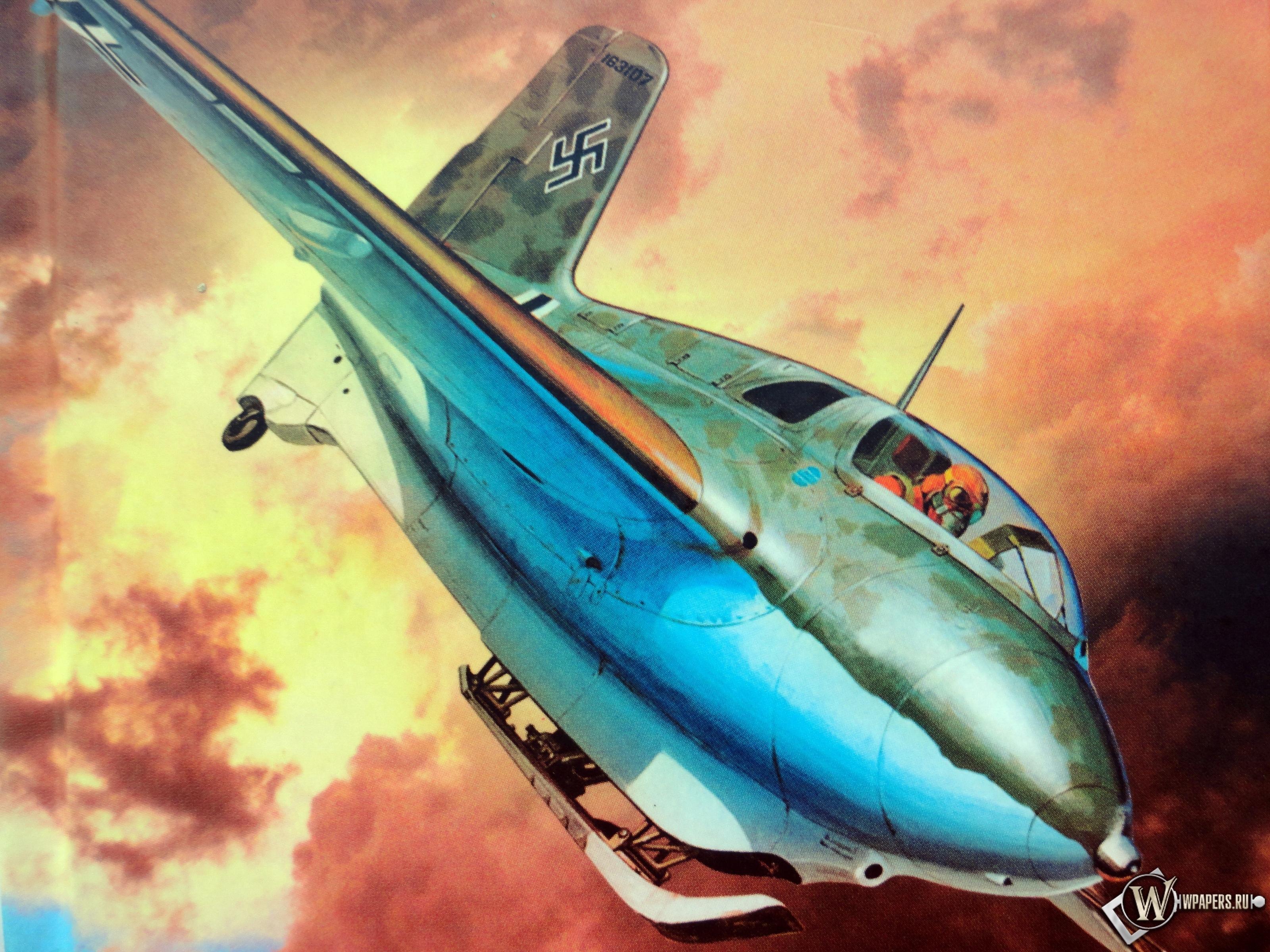 Messerschmitt Me-163B-1a 3200x2400