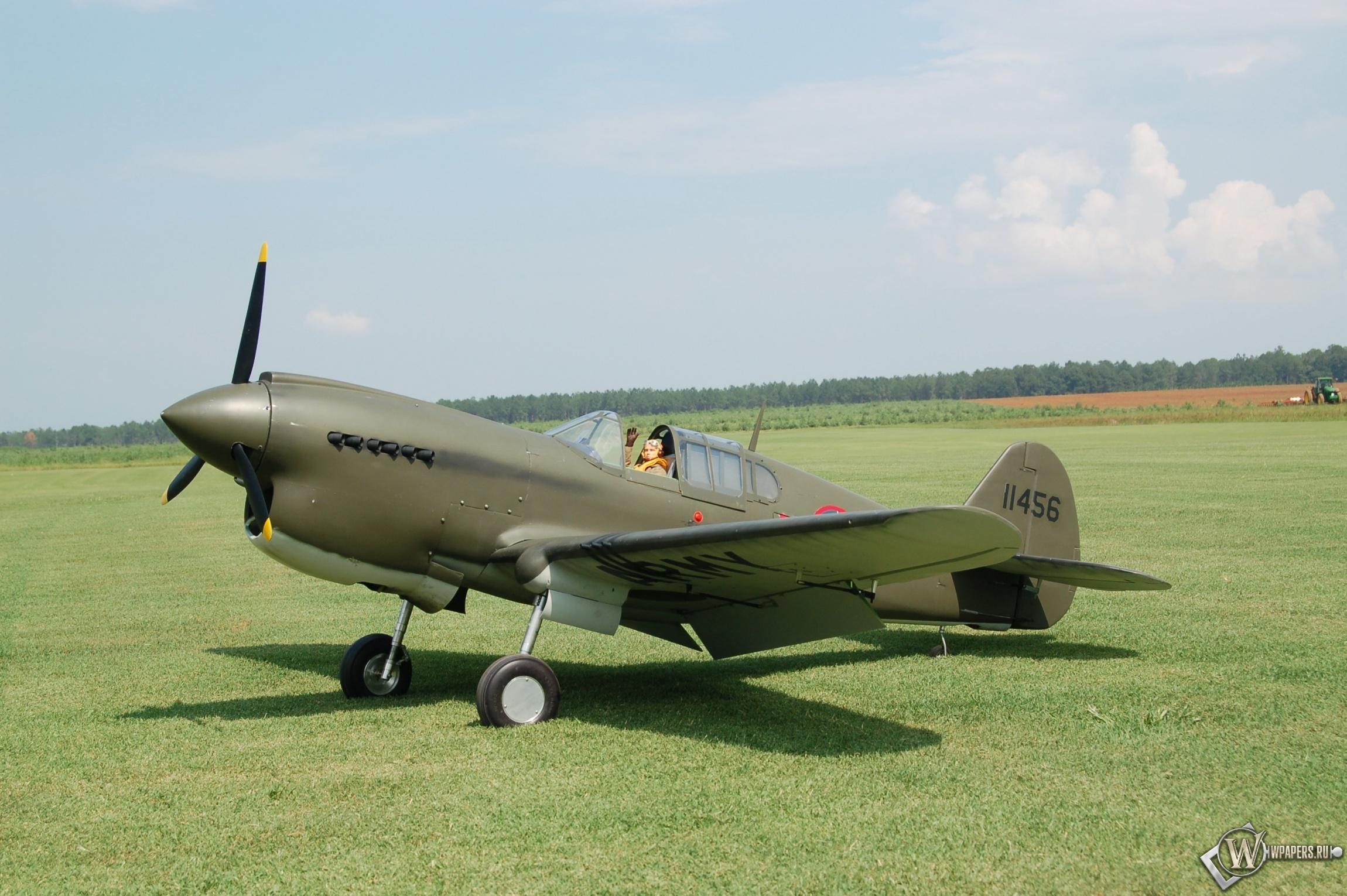 Curtiss P-40 2300x1530
