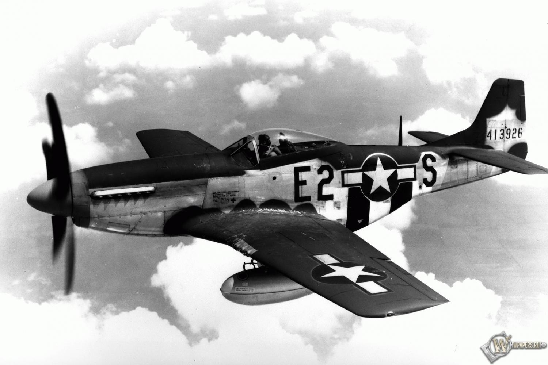 Это были р--51в, с и, конечно же, р-51d - лучший и самый известный