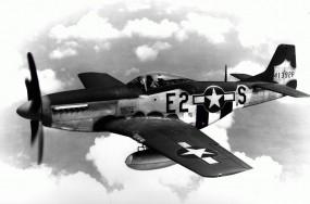 Обои North American P-51 Mustang: Истребитель, Истребители