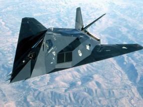 Обои Стелс F-117: Самолёт-невидимка, Стелс, Stels, F-117, Истребители