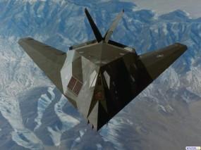 Обои Стелс F-117: Стелс, F-117, Истребители