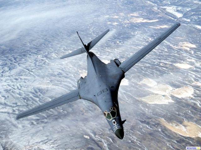 Стратегический ракетоносец B-1 Lancer