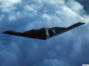 Обои Бомбардировщик B-2: Бомбардировщик, B-2, Стелс, Истребители