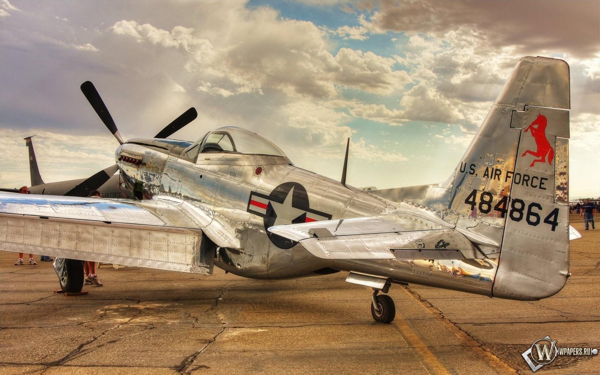 North American P-51 Mustang 1920x1200